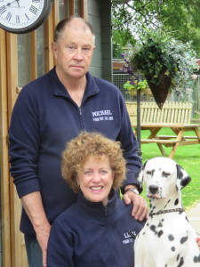 PHOTO: Michael & Linda with Dottie the Dalmation